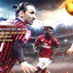 VWIN là đối tác chính thức của CLB AC Milan – Serie A