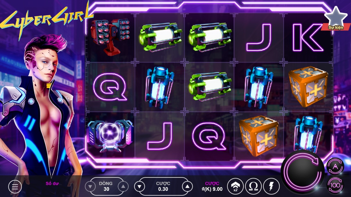 Vwin - Cyber Girls - Trò chơi MJ - Maja Games