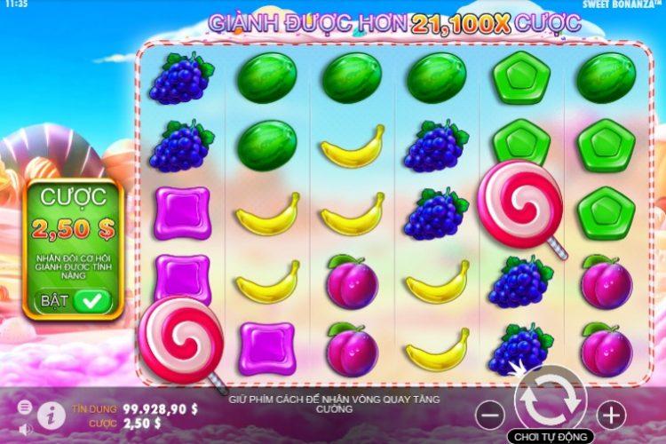 Vwin99 hướng dẫn chơi Slot game Sweet Bonanza