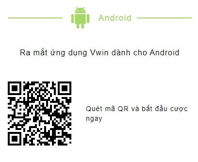Cách tải Ứng dụng Vwin trên điện thoại di động sử dụng hđh Android