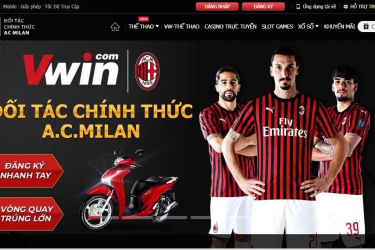 Cấu trúc website của nhà cái Vwin