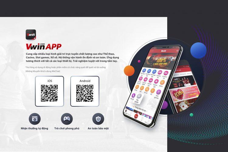 Vwin App - Ứng dụng tuyệt vời trong tầm tay