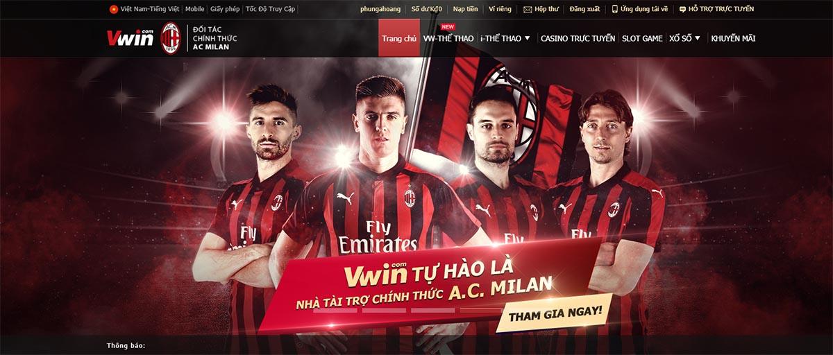 Nhà tài trợ uy tín của AC Milan