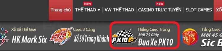 Vwin xo so : Giải thích luật chơi Đua xe Bắc Kinh PK10