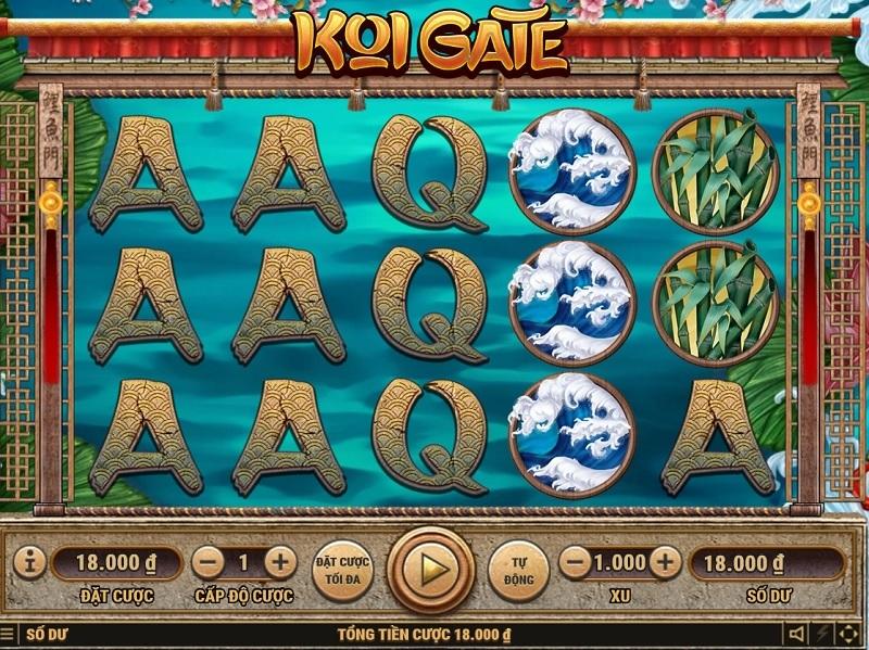 Vwin Slot Game hướng dẫn cách chơi Koi Gate
