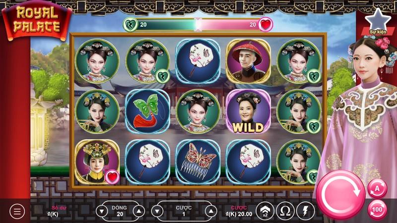 Vwin giới thiệu cách chơi Slot Game : Royal Palace