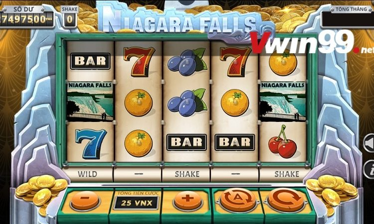 Niagara Falls – Khám phá Slot Games Vwin cổ điển tại Trò chơi YGG