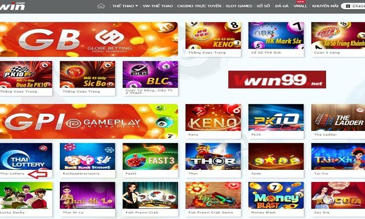 Cùng Vwin99 tìm hiểu luật cược Thai Lottery tại Xổ số Vwin