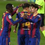 Không Messi, Dembele đưa Barca trở về từ cõi chết