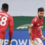 Bruno Fernandes khoái chí vì MU thất vọng khi hòa Leicester