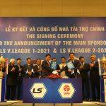 Đối tác Hàn Quốc ngắn bó thêm 3 năm với V-League