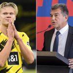 Laporta mua Haaland nếu trở lại ghế chủ tịch Barca