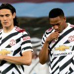 Martial và Cavani lỡ hẹn trận cầu sinh tử của MU