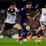 Trực tiếp Barca vs Valencia, 22h15 ngày 19/12