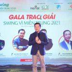 Quyên góp gần 2 tỉ đồng trong đêm Gala Swing vì miền Trung 2021