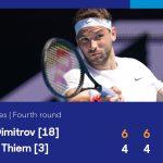 """""""Tiểu Federer"""" xuất sắc loại Dominic Thiem"""