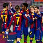 """Song tấu Messi - Griezmann giúp Barca thắng """"5 sao"""""""