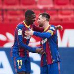 Kết quả Sevilla vs Barca: Messi nhảy tango, Barca qua mặt Real