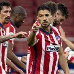 Suarez lập cú đúp, Atletico đánh rơi chiến thắng phút 89