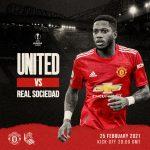 Trực tiếp MU vs Real Sociedad, 3h ngày 26/2