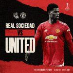 Trực tiếp Real Sociedad vs MU, 0h55 ngày 19/2