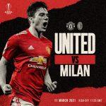 Trực tiếp MU vs AC Milan, 0h55 ngày 12/3