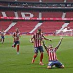 Atletico đòi lại ngôi đầu từ tay Real Madrid