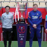 Koeman: 'Messi rất tuyệt vời, Barca sẽ nâng Cúp Nhà vua'