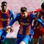 Kết quả Barcelona vs Atletico: Real Madrid mừng thầm