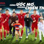Honda tiếp tục tài trợ Tuyển bóng đá Quốc gia Việt Nam