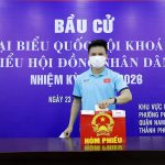 Các tuyển thủ Việt Nam, U22 Việt Nam nô nức đi bầu cử