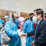 Tuyển Việt Nam được tiếp đón nồng nhiệt ở UAE