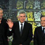 Chủ tịch Perez gọi HLV Ancelotti về thay Zidane