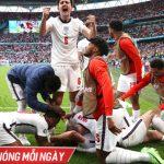 Kết quả Anh 2-0 Đức, vòng 1/8 EURO 2020