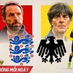Trực tiếp Anh vs Đức, vòng 1/8 EURO 2020