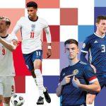 Trực tiếp Anh vs Scotland, bảng D EURO 2020