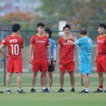 Tuấn Anh, Văn Toàn trở lại sân tập cùng tuyển Việt Nam