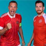 Trực tiếp Đan Mạch vs Nga bảng B Euro 2020