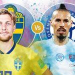 Trực tiếp Thụy Điển vs Slovakia bảng E Euro 2020
