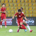 Video màn trình diễn quả cảm của tuyển Việt Nam trước UAE