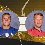 Link xem trực tiếp Pháp vs Đức, 2h ngày 16/6