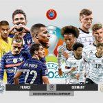 Trực tiếp bóng đá Pháp vs Đức - Bảng F Euro 2021