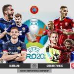 Trực tiếp Scotland vs Séc, bảng D EURO 2020