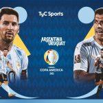 Trực tiếp Argentina vs Uruguay, 7h ngày 19/6 | Copa America