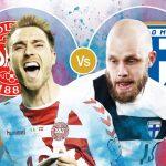 Trực tiếp Đan Mạch vs Phần Lan bảng B Euro 2020