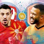 Trực tiếp Hà Lan vs Macedonia, 23h ngày 21/6 - Bảng C Euro 2021