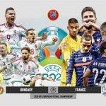 Trực tiếp Hungary vs Pháp - Bảng F Euro 2021