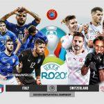 Trực tiếp Italy vs Thụy Sĩ - Bảng A EURO 2020