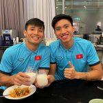 Tuyển thủ Việt Nam ăn mừng đơn giản trận thắng Indonesia