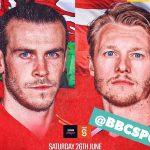 Link xem trực tiếp Xứ Wales vs Đan Mạch, 23h ngày 26/6